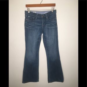 EUC Gap Sexy Boot Jeans